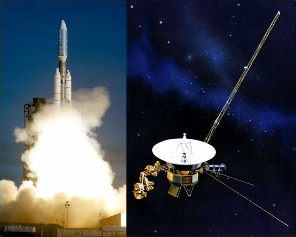 Image result for voyager 2 launched